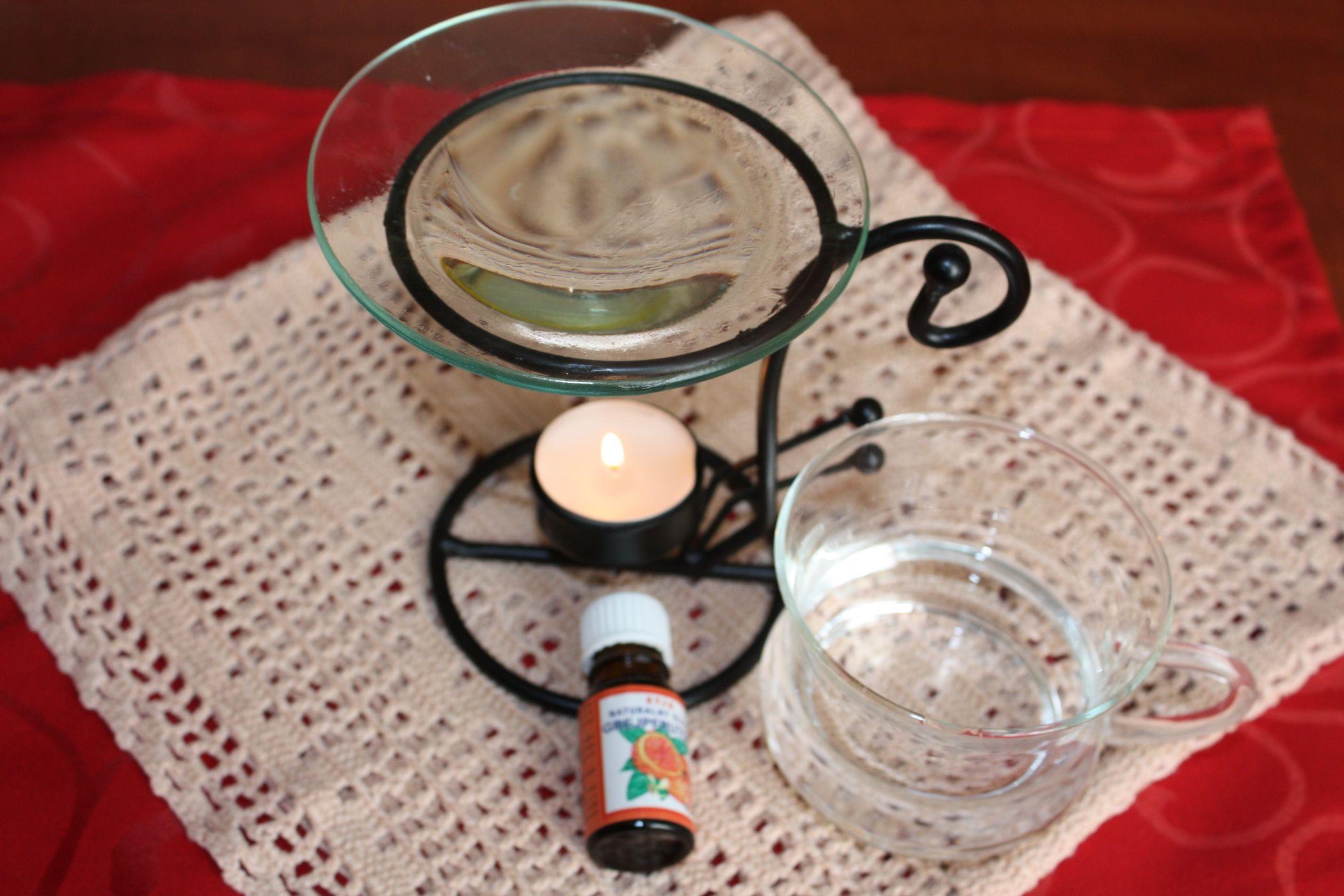 Mój, bardzo prosty zestaw do aromaterapii, sprawdza się bardzo dobrze.