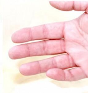 czysta dłoń