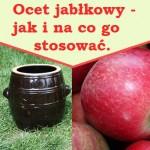 Ocet jabłkowy - na co i jak go stosować.